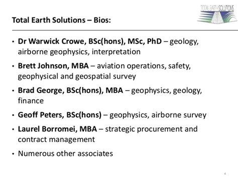 Bsc Msc Phd Mba by Total Earth Solutions Petroleum Exploration Services
