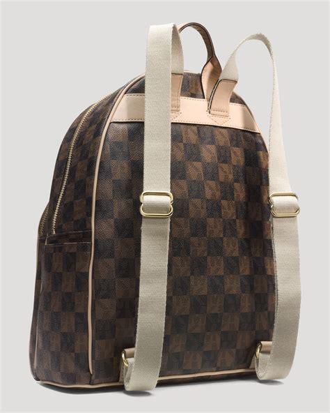 Backpack By Michael Kors by Michael Michael Kors Backpack Jet Set Item Checkerboard