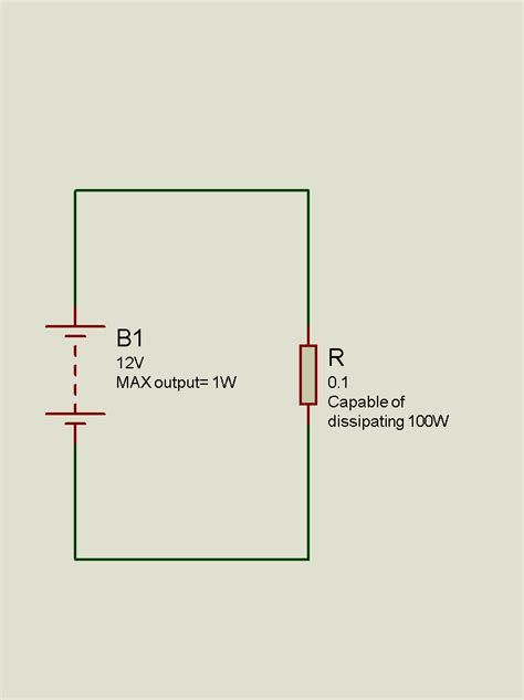 power resistor dissipation power dissipation across resistor