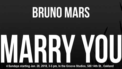 bruno mars you testo bruno mars you you performance class bay area