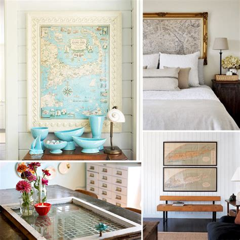 Map Home Decor by Decorating With Maps Photos Popsugar Home