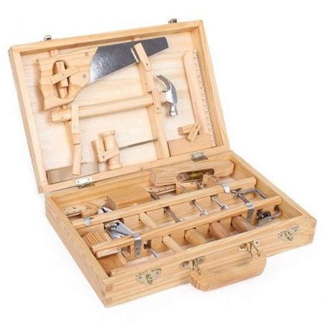 woodworking tools for children moulin roty children s large wooden tool box tool kit set