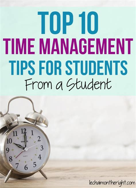 25 best ideas about time management for students on