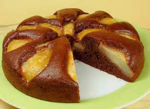 kuchen schokolade birnen kuchen rezepte chefkoch de