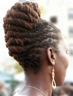 french roll short dreads dreadlock french roll hairstyle thirstyroots com black