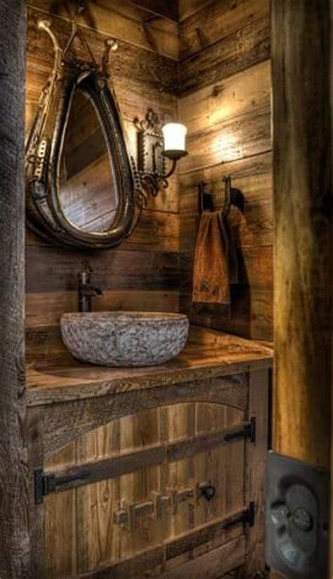 25 best ideas about rustic bathrooms on