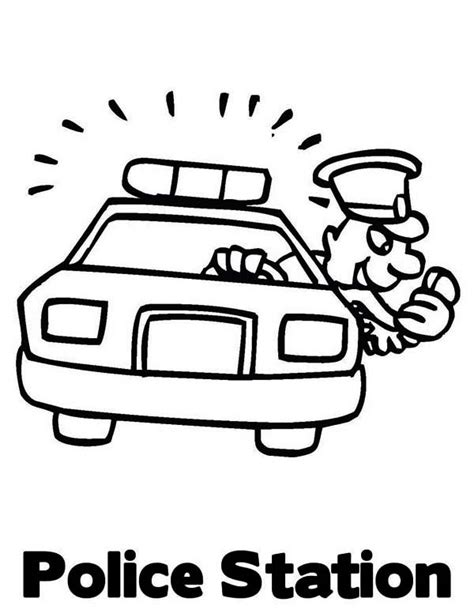 thank you coloring page for police officer free coloring pages of thank you police officers
