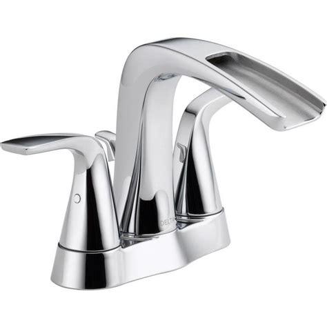 delta tolva 4 in centerset 2handle bathroom faucet in