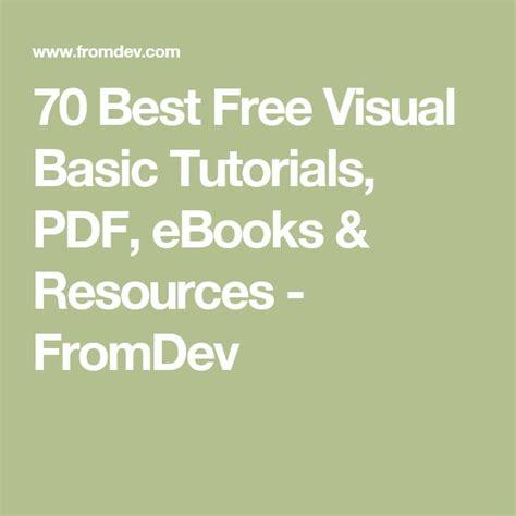 tutorial visual basic 6 0 pdf best 25 visual basic tutorials ideas on pinterest