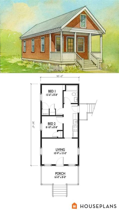 2br House Plans Small Cottage House Plan 500sft 2br 1 Bath By Marianne Cusato Houseplans Plan 514 5