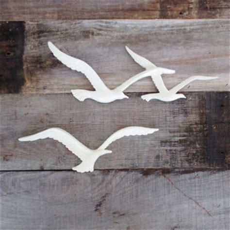 Vintage Wooden Signs Home Decor Mid Century Seagull Wall Hanging Vintage From The Dusty