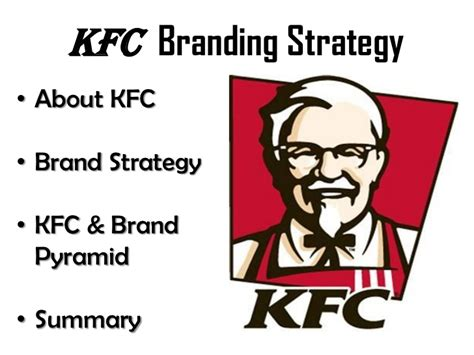 layout strategy of kfc kfc brand strategy pyramid