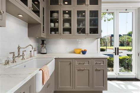 superb kitchen features gray cabinets painted benjamin