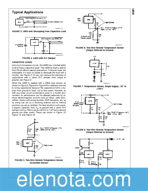 transistor lm35 datasheet lm35 datasheet pdf 304 kb national semiconductor pobierz z elenota pl