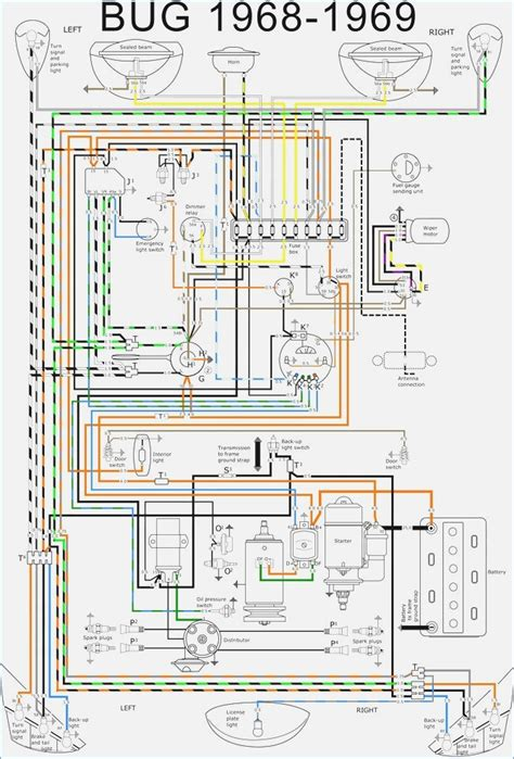 volkswagen type 3 wiring diagram wiring diagram with