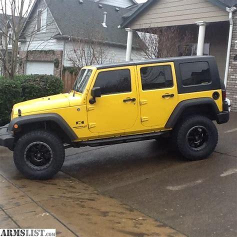 armslist for sale 2008 jeep wrangler unlimited 4 door