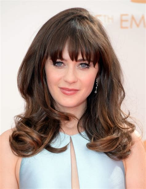 hairstyles bangs 2014 2014 zooey deschanel hairstyles long hairstyle with bangs