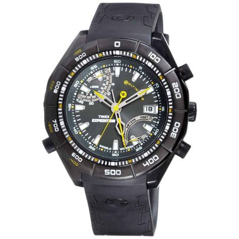 Gc Rubber Model Expedition timex expedition e altimeter black t49795 ebay