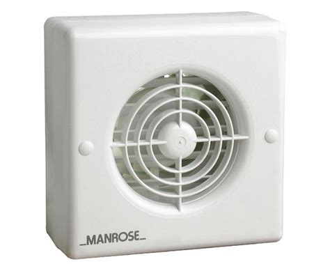 extractor fan bathroom window wf100ap manrose 100mm 4 quot automatic shutter pull cord window mounting bathroom or