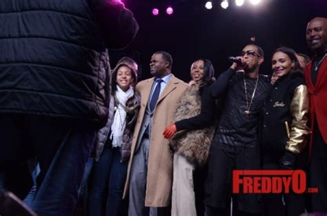 Atlanta Honors Luda And Trisha by Ludacris Mayor Kasim Reed Bring In The New Year With The