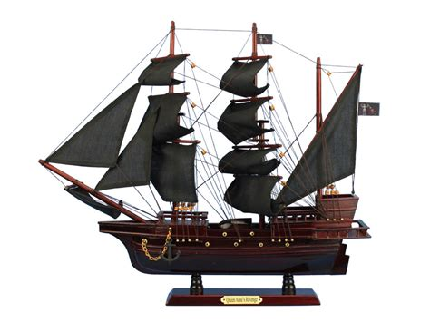 xpress boats crowley la buy wooden blackbeard s queen anne s revenge model pirate