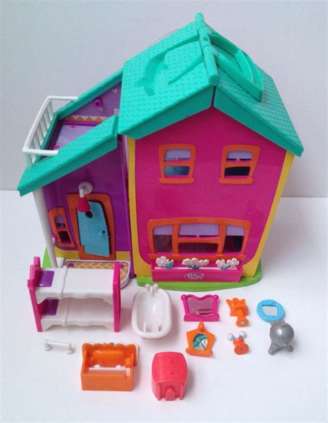 polly pocket 2002 house play set w accessories origin