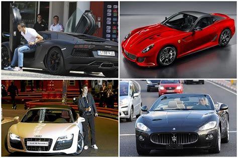 Cr7 Auto by Cristiano Ronaldo S Car Collection Three Ferraris A