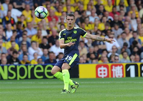 arsenal premier league arsenal granit xhaka highlights focused squad