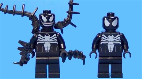 Lego Bootleg Venom lego black suit venom comparison