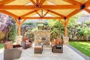 Galerry gazebo designs with fireplace