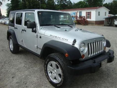 2007 Jeep Unlimited Rubicon Find Used 2007 Jeep Wrangler Unlimited Rubicon In 2849