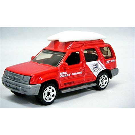 Matchbox Nissan Xterra matchbox nissan xterra coast guard truck global diecast direct