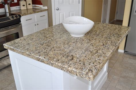 Granite Tile Kitchen Countertops The Dizzy House Diy Granite Mini Slabs Undermount Sink