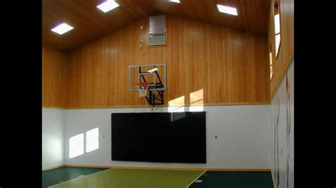 basement basketball court private indoor basketball court youtube
