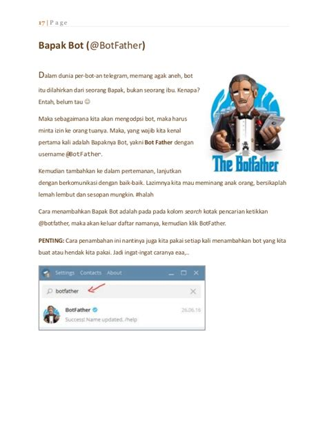 membuat bot telegram dengan python ebook i membuat bot telegram dengan php