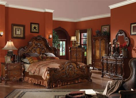 cherry oak bedroom set sale 4816 00 dresden 5 pc traditional bedroom set
