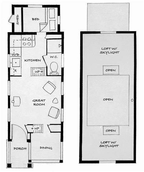 floor plans for small houses meet shafer and his tiny house plans eye on design