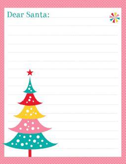 Free Printable Santa Letter Templates Free Letter To Santa Template