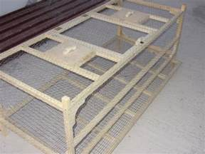 gabbie per quaglie gabbia per quaglie ovaiole fai da te part 2 cages for