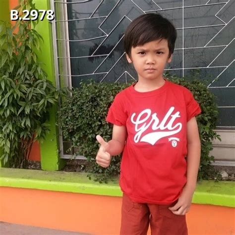 T Shirt Three Second Kaos 3second Baju 3second kaos greenlight anak b 2978 home