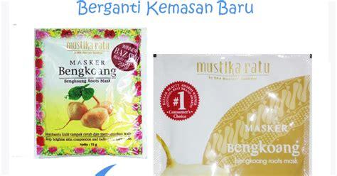Masker Wajah Mustika Ratu Bengkoang product review mustika ratu masker bengkuang buleipotan