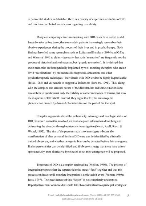 Disorder Essay by Dissociative Identity Disorder Research Papers Report403 Web Fc2