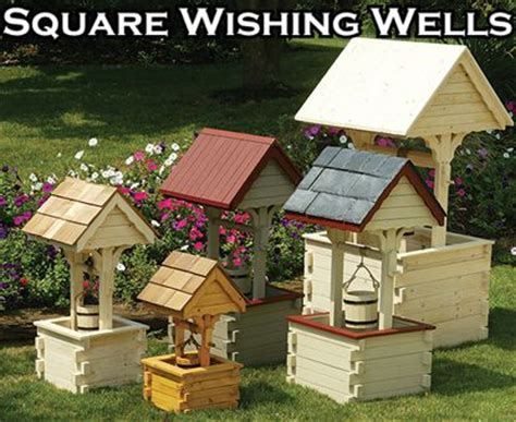 Plans For Wood Wishing Well