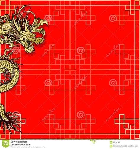 asian menu card template template background with stock illustration