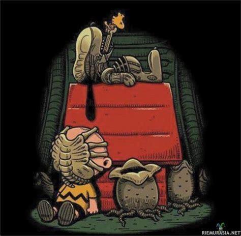 Snoopy Kido xenomorph snoopy