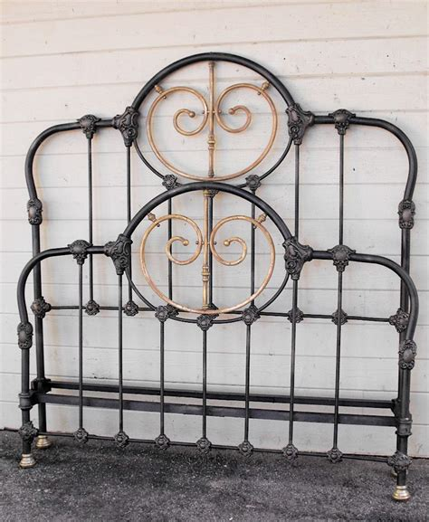 vintage iron bed frames 35 best images about antique beds on pinterest painted