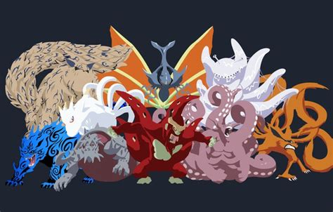 Shippuden 2 Iphone All Hp 1 wallpaper anime shippuden tailed beasts