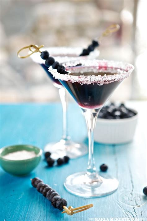 blueberry martini recipe blueberry martini marla meridith
