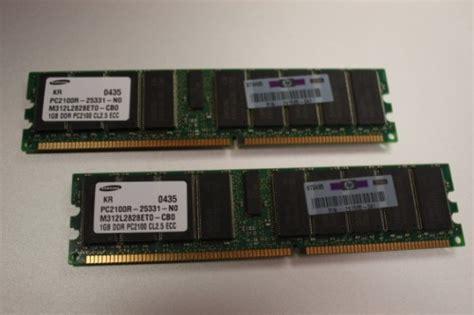Hp Samsung Terbaru Ram 2gb hp 261585 041 2gb dddr pc2100 cl2 5 ecc server memory