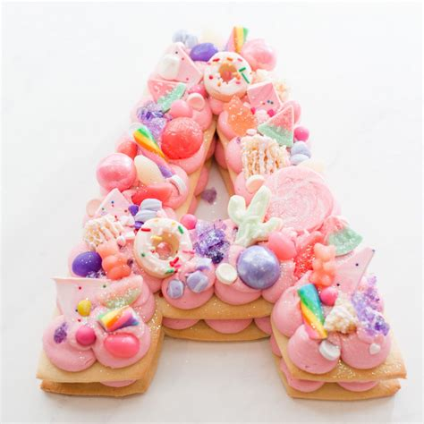 Letter Cookies